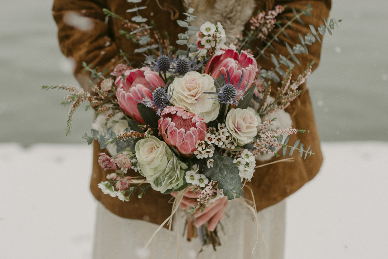 Nevada City, California wedding flower photo