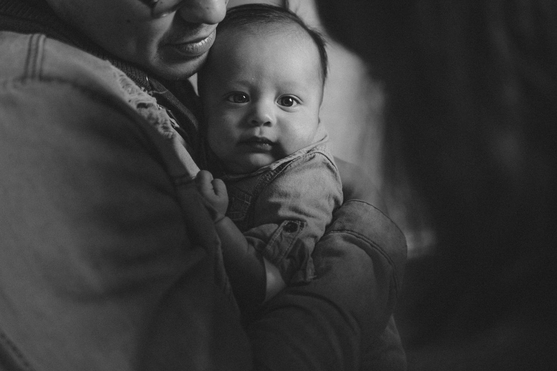 Yerington, Nevada Family session baby photo