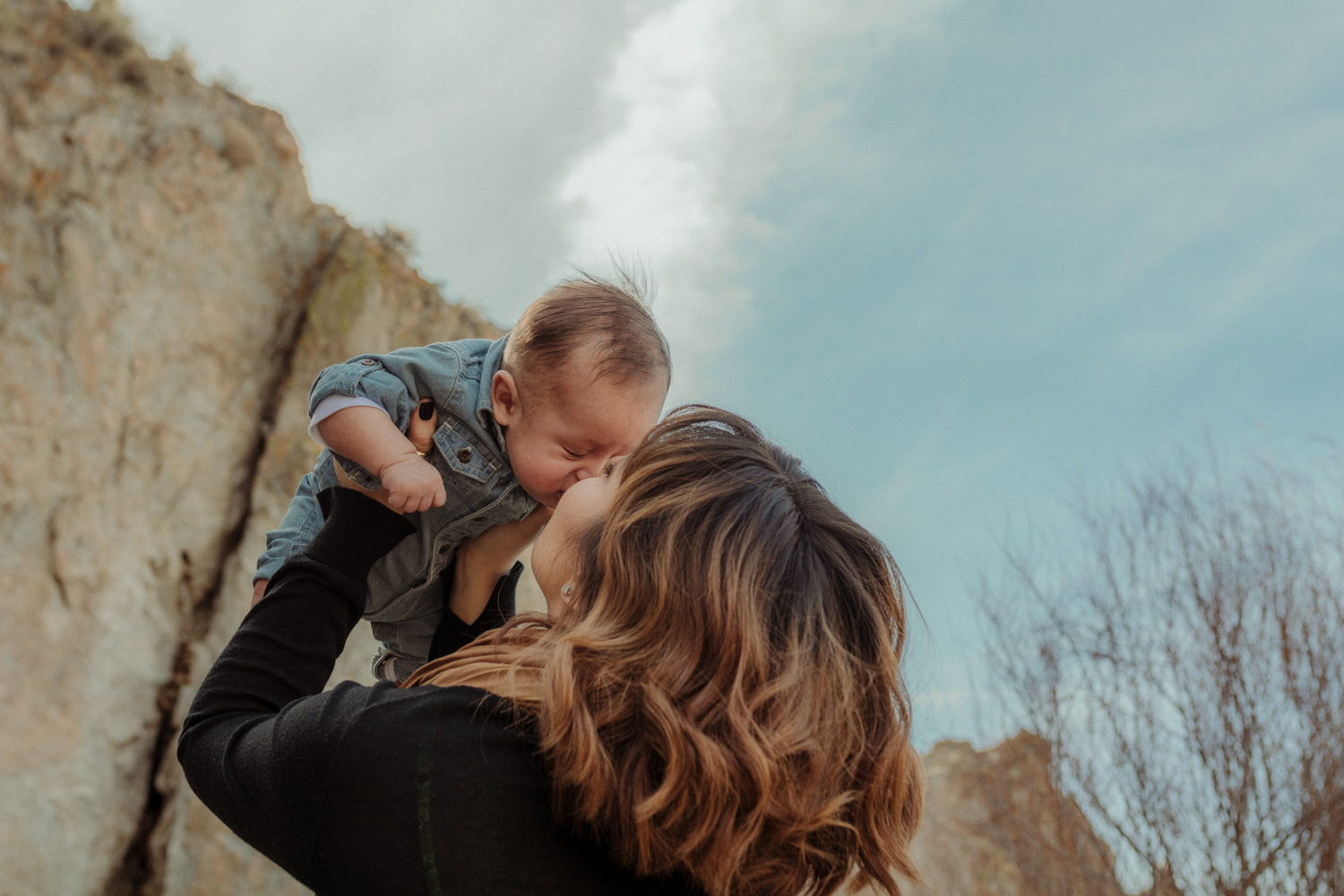 Wilson Canyon Family Session mom and son photo