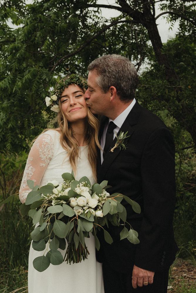 Vacaville wedding bride and dad photo