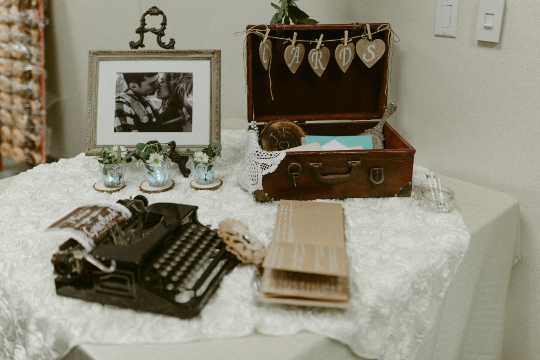 Vacaville wedding reception details photo