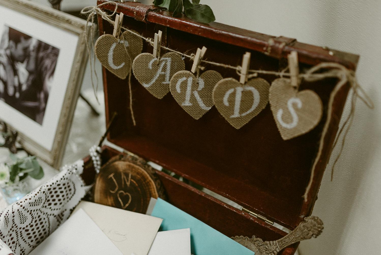 Vacaville wedding card photo