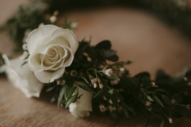 Vacaville wedding flower crown photo