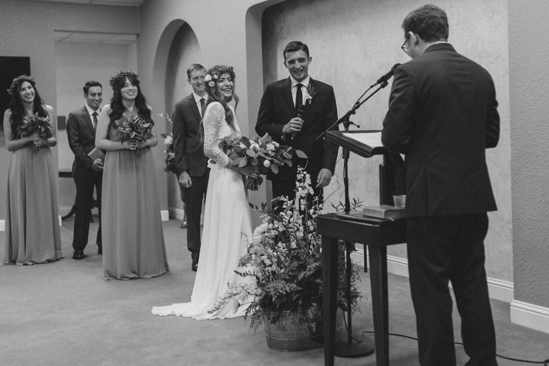 Vacaville wedding ceremony photo