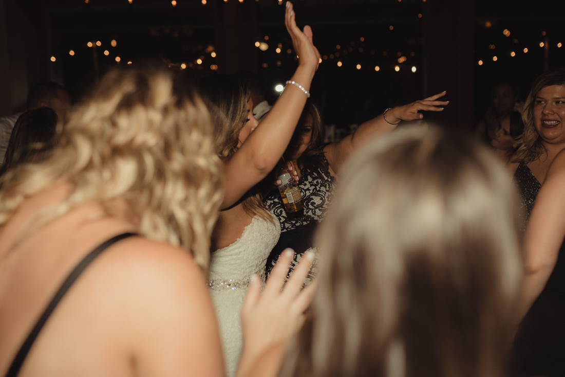 Tannenbaum wedding guests dancing photo