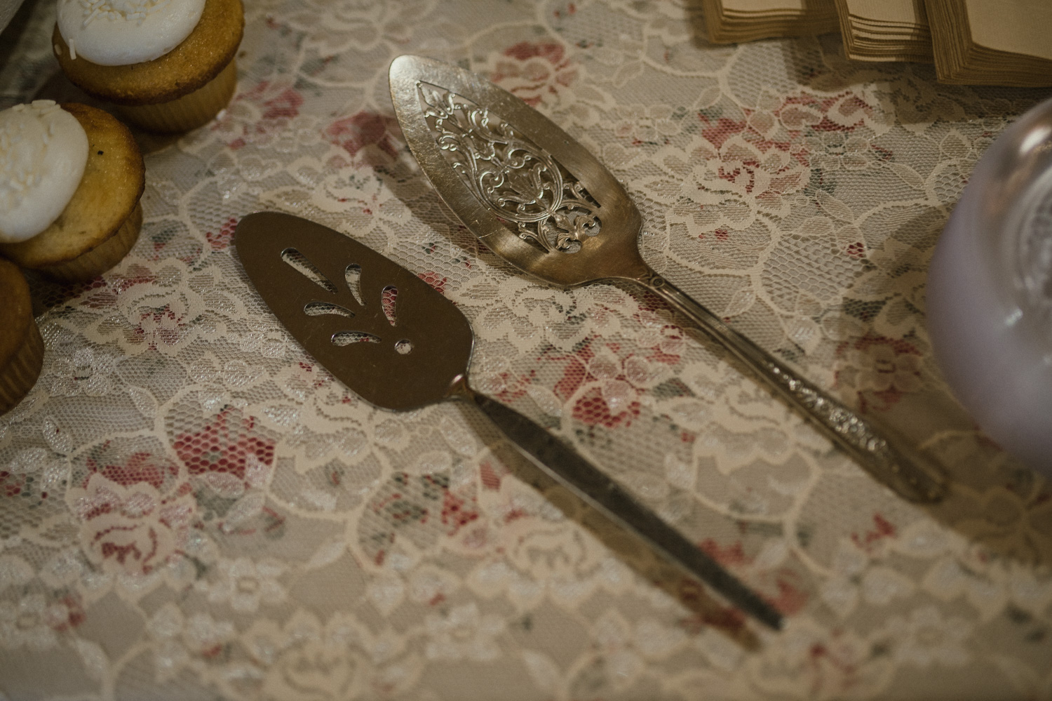 Wilbur D May Museum wedding, Beauty and the Beast wedding utensils photo