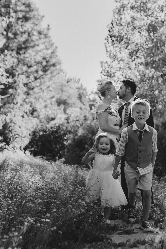 Rancho San Rafael Regional Park photo session, family portrait