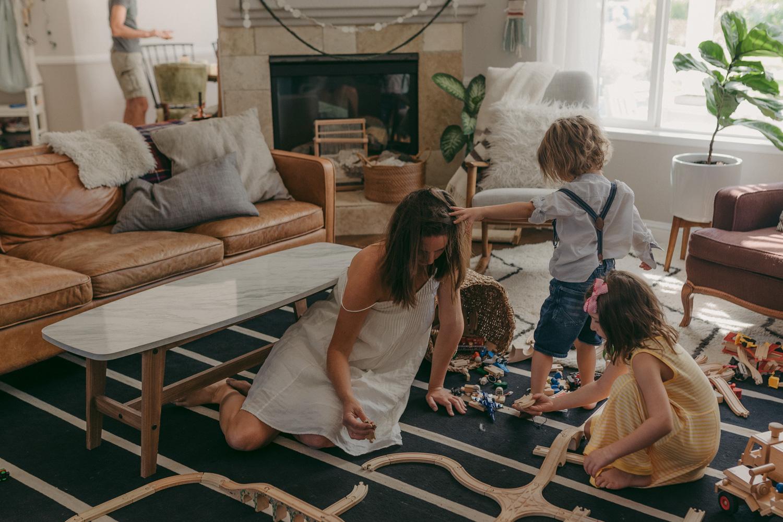 Reno home session living room photo