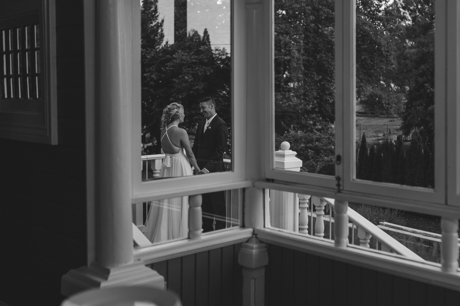 Wedgewood Sequoia Mansion wedding photo