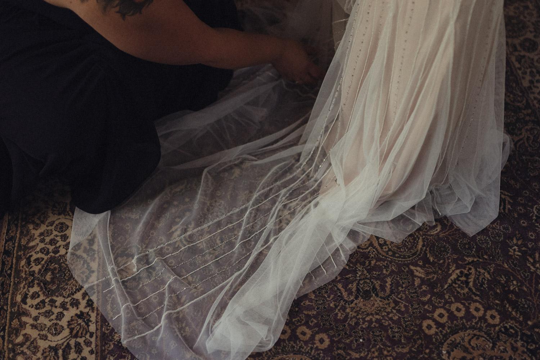Nevada city wedding dress photo
