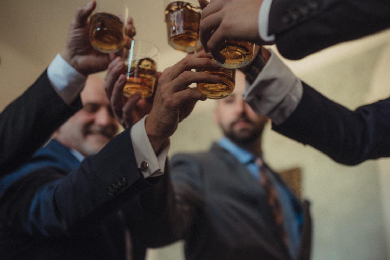 Nevada City Wedding national hotel drinks photo