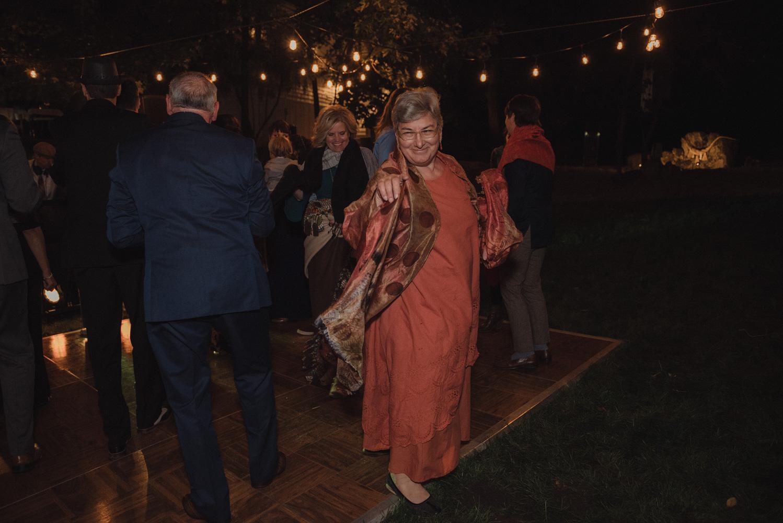 Nevada City wedding brides mom dancing photo