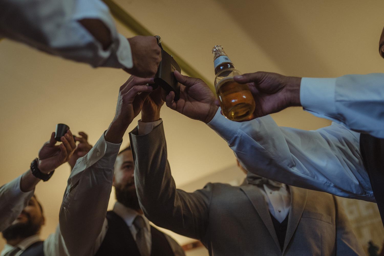 Tannenbaum Reno Wedding cheers photo