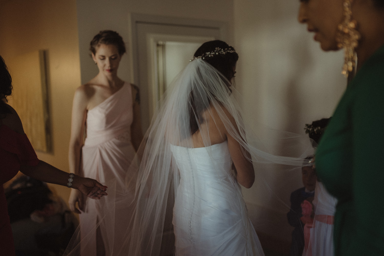 Tannenbaum Reno Wedding veil photo