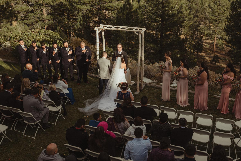 Tannenbaum Reno Wedding reception photo