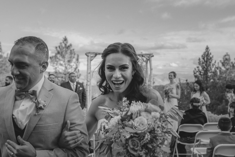 Tannenbaum Reno Wedding happy bride photo