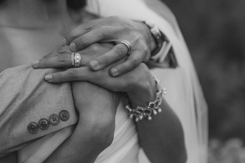 Tannenbaum Reno Venue Wedding close up shot of hands photo
