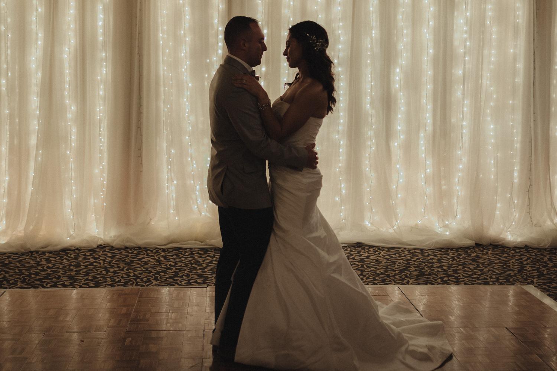 Tannenbaum Wedding Venue first dance photo