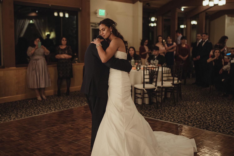 Tannenbaum Wedding Venue uncle dancing with the bride photo