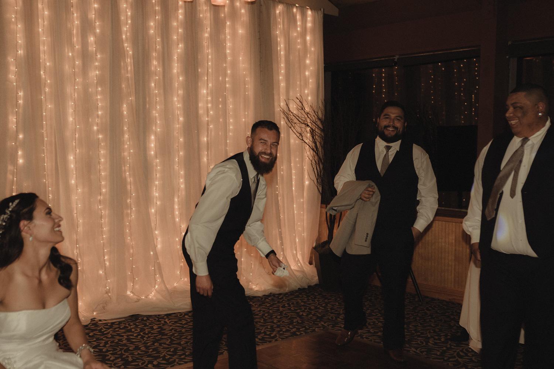 Tannenbaum Wedding Venue groomsmen photo