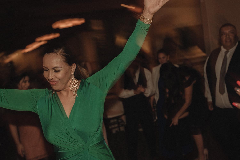 Tannenbaum Wedding Venue reception guest dancing photo