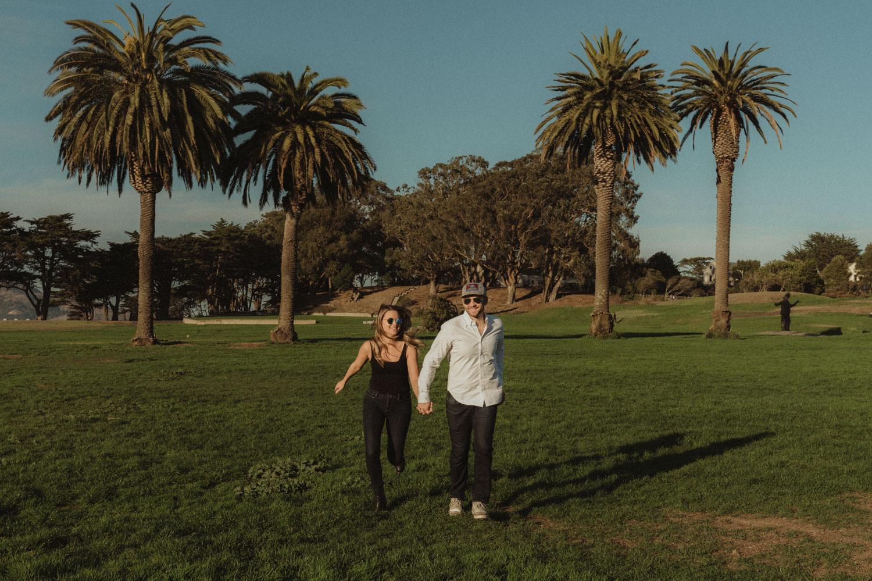 San Francisco engagement photo inspiration