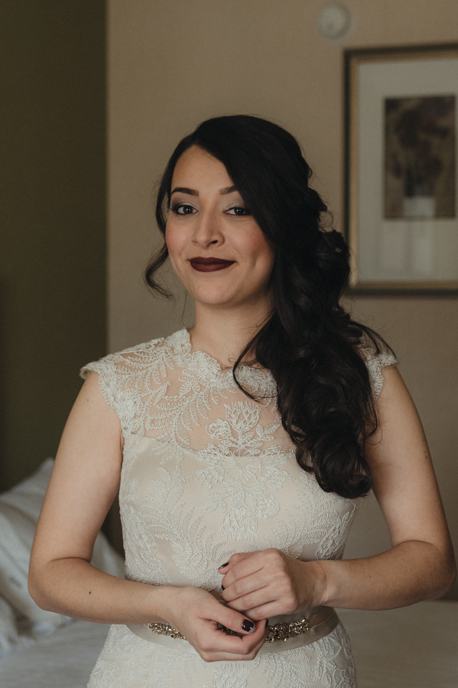 Logan Shoals elopement bride portait