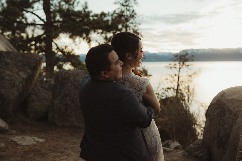 Logan Shoals elopement candid photo