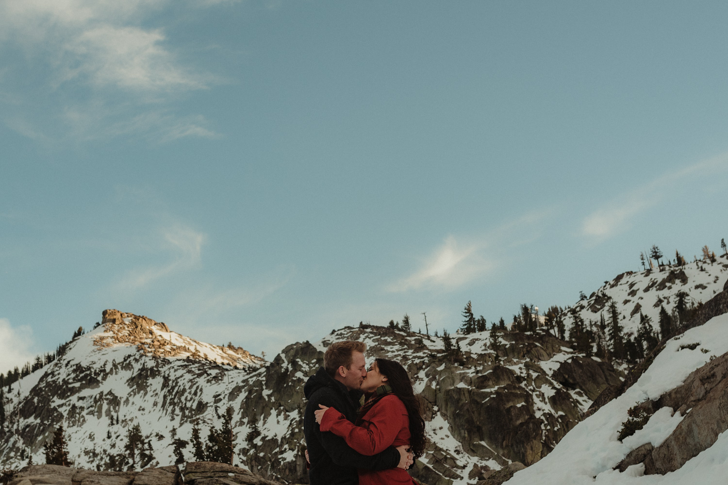 Donner Pass couples photo
