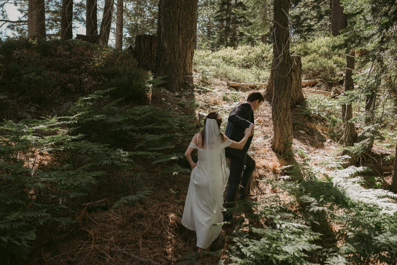 Sardine Lake Resort, wedding couples photo