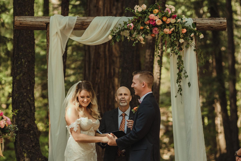 Twenty Mile House wedding bride and groom photo