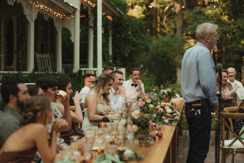 Twenty Mile House wedding grooms photo