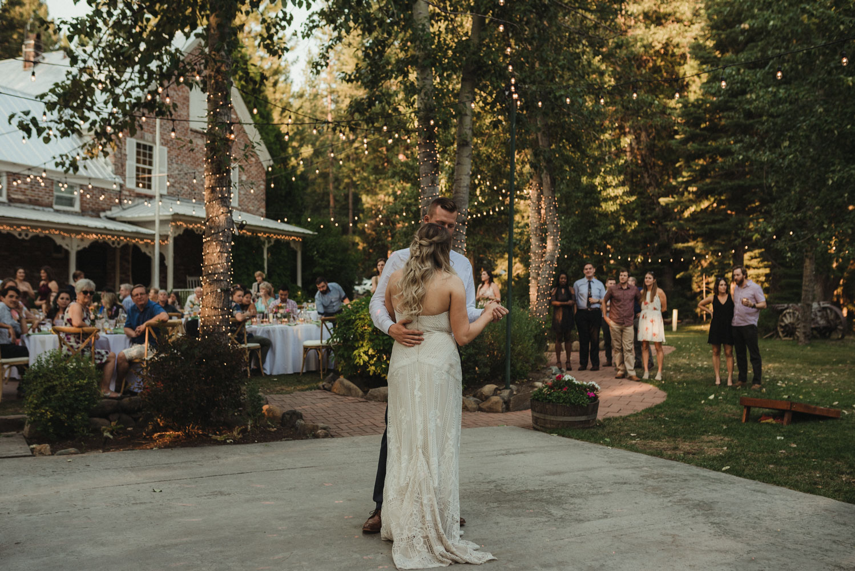 Twenty Mile House wedding first dance photo