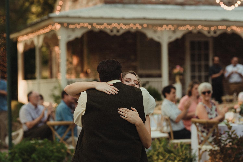 Twenty Mile House wedding dad photo