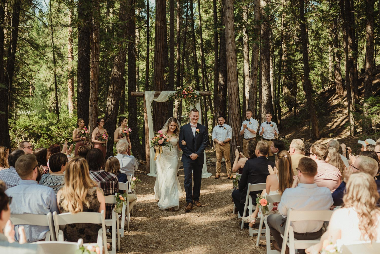 Twenty Mile House wedding that just married feeling photo