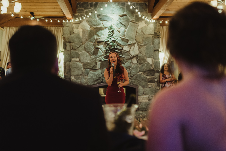 tannenbaum wedding venue toasts photo