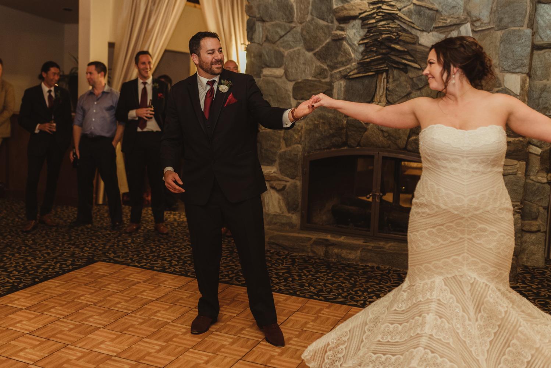 tannenbaum wedding venue couple dancing photo