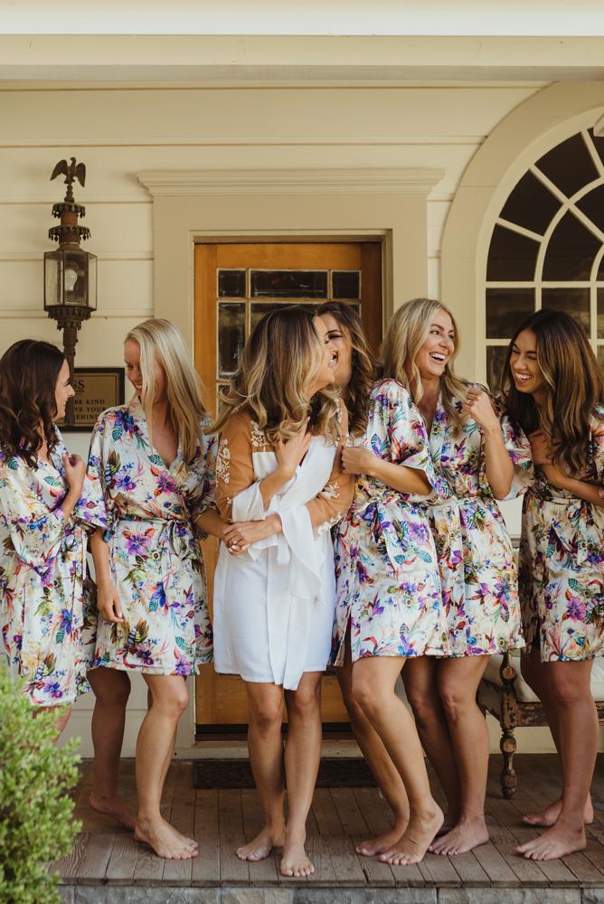 Triple S Ranch Wedding, bridesmaids photo