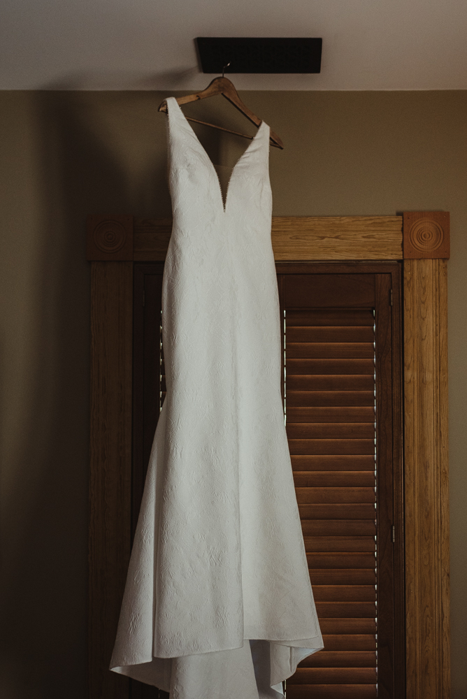 Triple S Ranch Wedding Venue, pronovias wedding dress photo