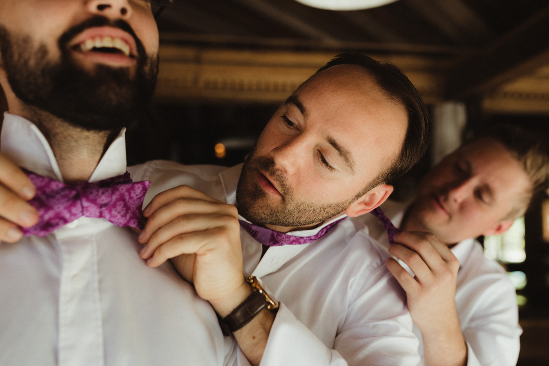 Triple S Ranch Wedding Venue, groom getting ready photo