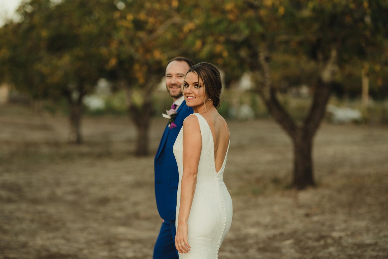 Triple S Ranch Wedding Venue, bride wearing pronovias photo
