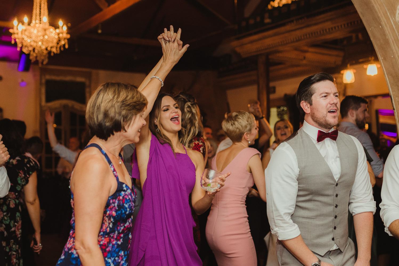 Triple S Ranch Wedding Venue, brides sister dancing photo
