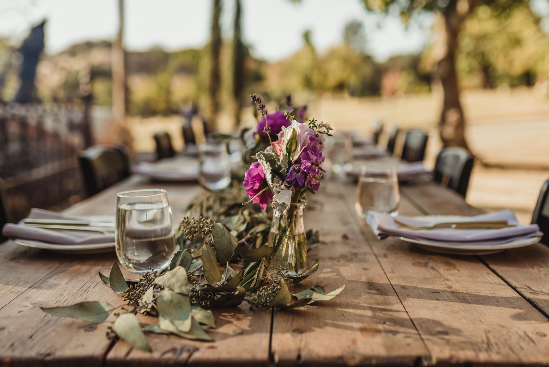 Calistoga Boutique Resort wedding, flowers photo