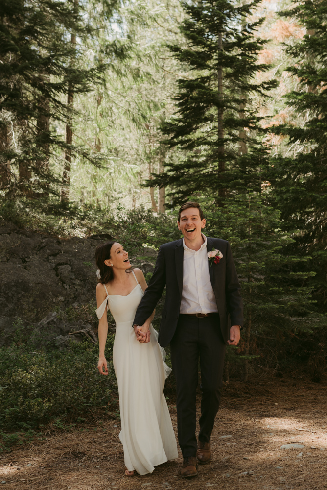 Elopement photo in lake tahoe and surrounding areas
