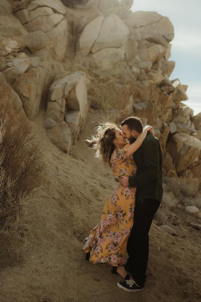 Lake Tahoe engagement photographer, desert inspiration