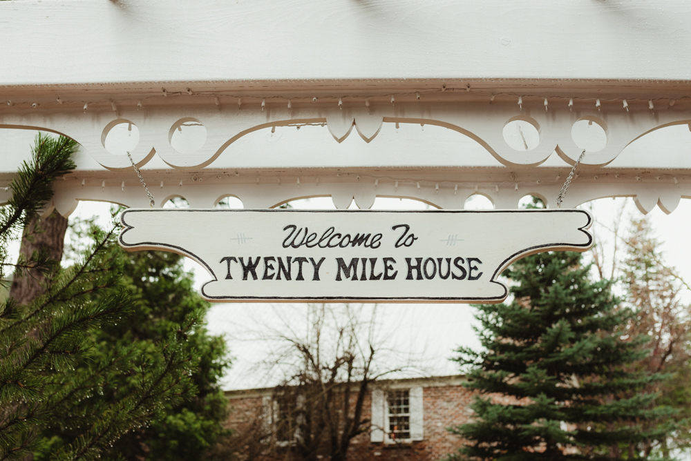 Twenty Mile House Wedding in April, venue details photo