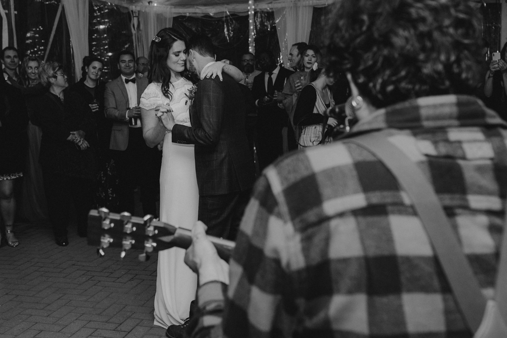 Twenty Mile House Wedding, first dance photo being played by best man