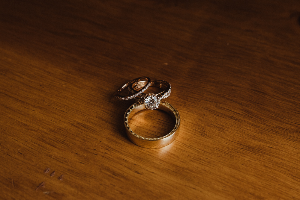 Twenty Mile House Wedding, photo of rings