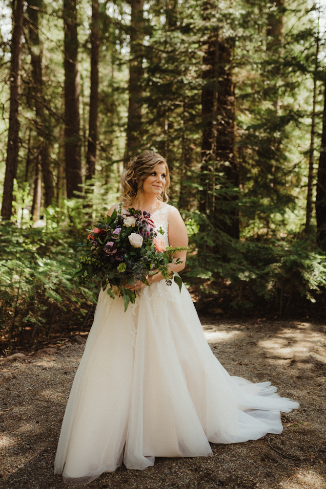 Twenty Mile House Wedding, photo of bride