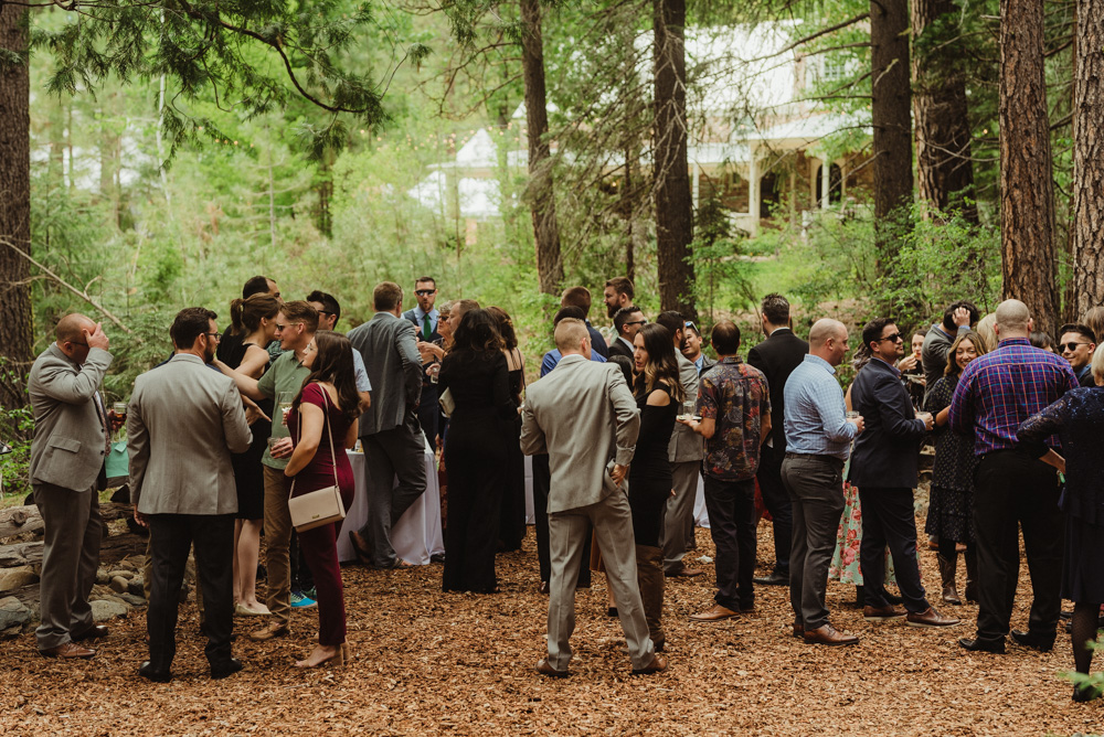 Twenty Mile House Wedding, photo of guests